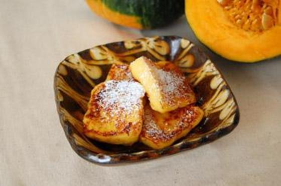 ほっくりかぼちゃのフレンチトースト
