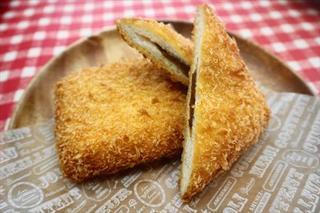 四角いカレーパン